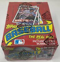 1985 TOPPS NO DATE MLB Baseball Unopened HOBBY Trading Card BOX 36 Wax PACK BBCE
