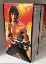 The Rambo Collection Box Set VHS Tapes