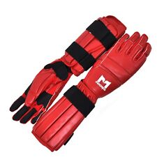 New Adjustable Sparring Practice Protective Fight Gloves Kendo Kumdo MMA Red