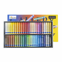 Inscribe Gallery Art Oil Pastels Box Set of 48 Assorted Colours