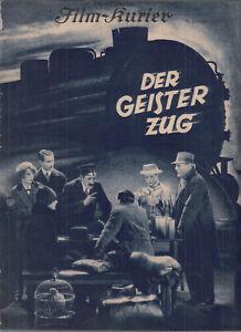 23 verschiedene BFK Film-Kurier ab Nr. 722 Der Geister Zug