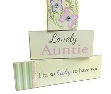 Vintage Style Auntie Mantelpiece Brick Gift Set 69042