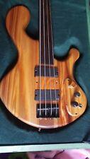 KnotHead Guitars fretless 4 string bass guitar