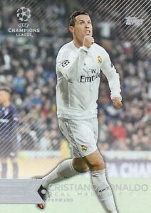 2015-16 Topps UEFA Champions League Showcase #15 Cristiano Ronaldo