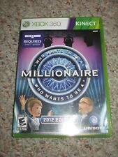 Who Wants to Be a Millionaire 2012 Edition (Microsoft Xbox 360, 2011) Complete