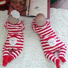 nouveau-né enfants bébé fille cadeau de Noël Combinaison Grenouillère vêtements
