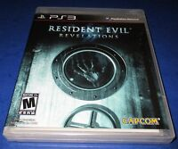 Resident Evil Revelations Sony PlayStation 3 *Factory Sealed! *Free Shipping!