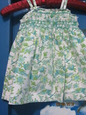 baby girls dress classic Princess Charlotte smocking super pretty 3-6mths green