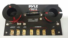 New PYLE XB212 Made in USA 2 Way Passive Crossover Xover Filtro Bloquiador