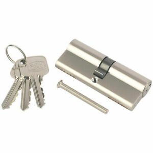 new Smith and Locke 70mm 35/35 5 Pin Euro Double Cylinder 3 keys