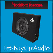 "ROCKFORD FOSGATE R2S-1X10 10 "" 400 Watt primo R2S Shallow LOADED Enclosure"