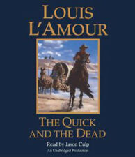 Louis L'Amour THE QUICK & THE DEAD Unabridged CD *NEW* FAST Ship $30 Value