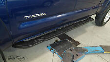 NEW OEM TOYOTA TACOMA DOUBLE CAB BLACK RUNNING BOARDS
