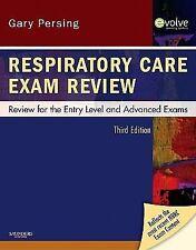 Respiratory Care Exam Review: Review for the Entry Level and Advanced Exams, 3e