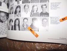 JEFF RICHARDS/SATURDAY NIGHT LIVE/ORIGINAL 1990 LOS LOMAS HIGH SCHOOL YEARBOOK