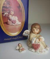 Rare German Weihnacht Goebel Jahresengel 2003 Annual Angel Numbered Figurine