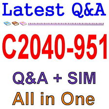 IBM Lotus Notes Domino 8.5 App Development Update C2040-951 Exam Q&A PDF+SIM