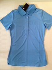 #46#47 NWT XSMALL Nike Women's Golf Victory Polo Shirt 508285 412 BLUE MSRP $50.