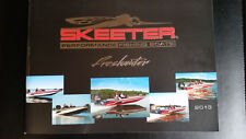 2011 and 2013 Skeeter Sales Brochures