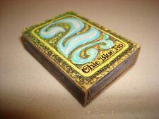 Rare Vintage Match Box Matches 2 Ohio Blue Tip 8 USA Original!