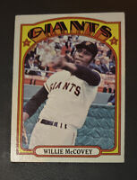 1972 Topps #280 Willie McCovey, San Francisco Giants, HOF