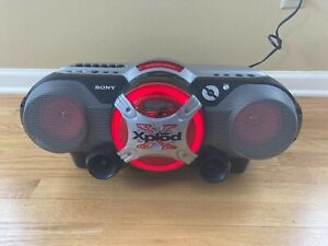 Sony Xplod CFD-G505 CD/Radio/Cassette Boombox - Fully Functional