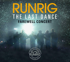 RUNRIG THE LAST DANCE:FAREWELL CONCERT Live at Stirling UK 3CD Edition