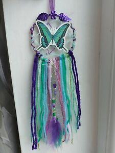 Handmade Small Butterfly Dream Catcher