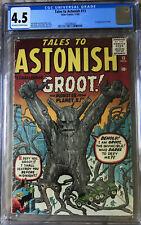 Tales to Astonish 13 CGC 4.5 1st Groot Marvel Atlas Comics 1960