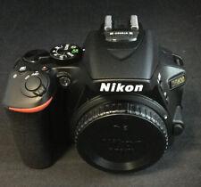 Nikon D D5600 24.2 MP Digital SLR Camera-Black (Kit with AF-P DX18-55mm #0759