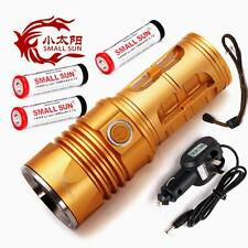 SMALL SUN ZY-T40 2500Lm CREE XML T6 LED Rechargeable Flashlight +3x14500+Charger