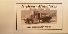 HIGHWAY MINIATURE 1923 MACK DUMP TRUCK KIT 360-210__NEW OLD STOCK__HO SCALE