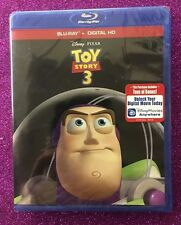 Toy Story 3  (Blu-ray/Digital HD, 2015; 2-Disc Set) NEW