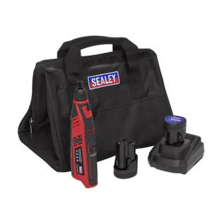 Sealey CP1207KIT 12v Cordless Rotary Tool / Engraver Kit