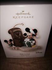 Hallmark Disney 2007 Hide and Peek Mickey Mouse Keepsake Ornament - NIB