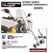 HONDA CMX250 REBEL 1985-87, 1996-09  NATIONAL CYCLE QUICKSET WINDSHIELD N25010