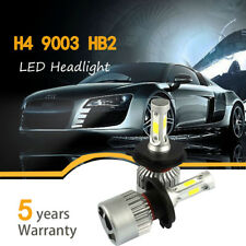 Pair H4 9003 HB2 980W 147000LM Car LED Headlight Bulbs COB kit 6000K White
