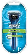 Wilkinson Sword Protector 3 Razor With Aloe - Handle And 1 Razor Blade Genuine