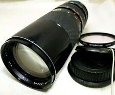 Soligor 100-300mm f5 Manueller Fokus Objektiv mit Packungen Canon EOS Ef