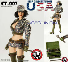 1/6 Cindy Aurum Final Fantasy XV Car Mechanic Set For Phicen Hot Toys Female USA