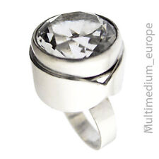 Modernist Kaunis Koru Silber Ring Bergkristall Finnland silver finland🌺🌺🌺🌺🌺