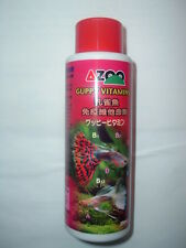 250 ML AZOO GUPPY and LIVEBEARER VITAMINS!