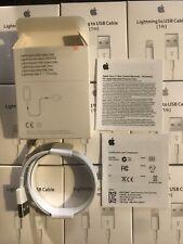 Câble ORIGINAL USB 1m chargeur Apple Lightning pour IPhone 5 6 7 8 X IPad 8pin