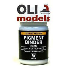 Acrylic Medium PIGMENT BINDER 30ml Bottle - Vallejo Pigments 26233