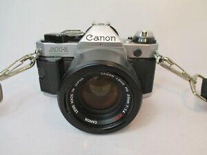 Canon AE -1 Program Foto Kamera mit Objektiv FD 50 mm 1:1,4 SSC Made in Japan
