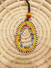 African Maasai Beaded Necklace Masai Massai ethnic tribal boho jnmp42