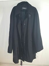 NWT Kenneth Cole Mens 3 in 1 Jacket Full Zip Button Front Trench Coat Sz 3XT