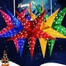 Xmas String Hanging Star Christmas Party Decoration Christmas Tree Ornament DIY