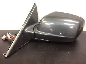01 02 03 Acura CL Left Mirror Rear View Door Mirror Power Gray Used OEM