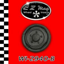 WI2940-B Factory Stock Wheel EZ Mag Inserts Fits H&R Chassis Slot Cars 1/24 1/25